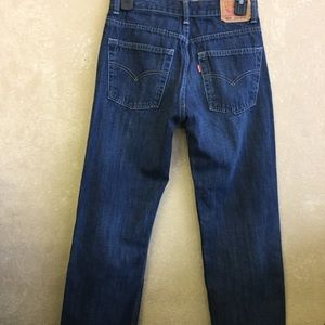 Boys 550 relaxed Levi jeans 26x28